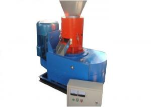 China Electric Flat Die Wood Pellet Machine Recycled Plastic Granulating Machine on sale