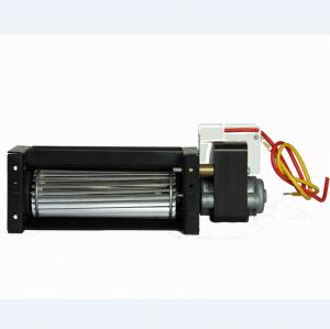 China 220v AC Cross Flow Blower Fan , Cross Flow Cooling Fan Sleeve / Ball Bearing For Oven on sale