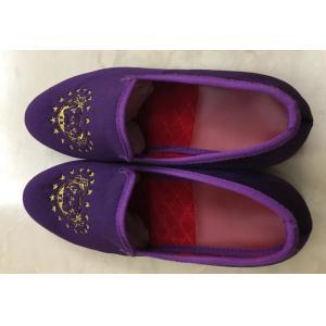 China Fashion Embroidery Mens Velvet Loafers Breathable Velvet Slip On Flat Loafer on sale