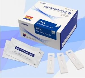 China CE Certificate IVD Tumor marker PSA Rapid test kit  PSA Test for Prostest cancer screening cassette on sale