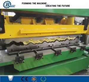 China Крен плитки крыши металла зеленого цвета стальной формируя лезвия вырезывания Cr12 машины гидровлические on sale