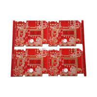 4mm 4 Layer Multilayer Printed Circuit Board Fabrication FR4 TG180 1 oz Copper