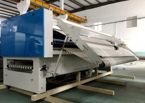 China Fully Automatic Hotel 3m Bedsheet Folding Machine For Table Cloth / Curtain Textile on sale