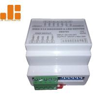 DIN Rail Version Max 5A*4CH DMX512 Decoder LED Dimmer Controller with ABS Material