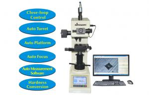 China Touch Screen Digital Hardness Tester Vickers with Motorized XY Table and Software Measurement on sale