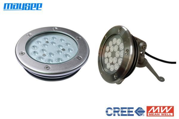 54W Blue W WW Par56 High power 18x3W LED swimming pool lamp Underwater light CE