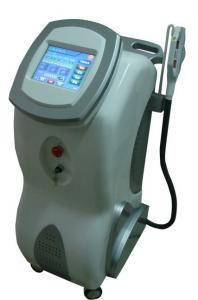 China Bipolar RF IPL Hair Removal Machines , Wrinkle Remover With 2 Handles on sale