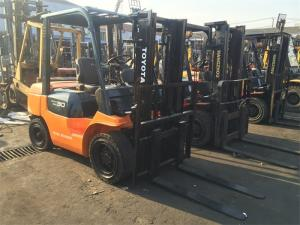 China 3 Ton Forklift For Sale , 7FD30 Toyota Used Forklift Hot Sale in Singapore on sale