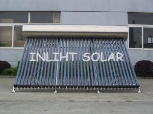 China Aquecedor de água integrado térmico solar da pressão, aquecedor de água bonde solar de 36 tubos on sale