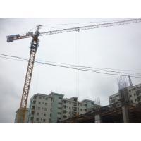 Building Construction Hydraulic Self Raising Tower Crane Equipment With Three Speed Motor