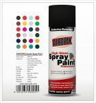 Aeropak  aerosol can 400ml 10oz spray paint with all colors acrylic
