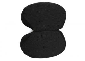 China Smooth Comfort Portable Memory Foam Seat Cushion / Wedge Seat Pillow Leaf Shape on sale
