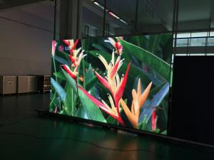 China Full Color Outdoor SMD LED Display / Full Color SMD LED Cabinet With Die Casting on sale