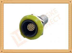 China PSU 14 Pin Circular Push Pull Connector Plastic Female Connector on sale