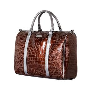 China Leather diaper bag,made of good PU leather,For mother on the go,portable,OEM welcome on sale