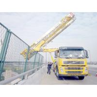 Latice Type 8x4 Bridge Inspection Machine VOLVO With Air Suspension System