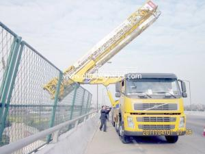 China Latice Type 8x4 22m  Bridge Inspection Machine VOLVO With Air Suspension System on sale