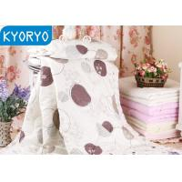 Cozy Dot Cotton Air Conditioning Blanket / Breathable Quilt for Home and Hotel