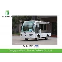Chinese  500kg payload cargo box 2 Seater Electric  Utility Vehicle With  DC Motor Light Weight CE Approved