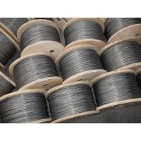 3mm Galvanized Steel Wire Rope , 6x37 and DIN / GB / EN12385-4