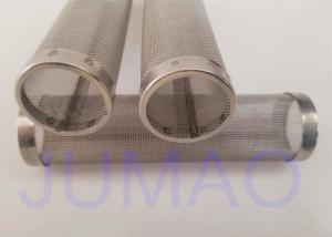 China Sintered Metal Wire Mesh Filter Element High Tensile Strength For Filtration on sale