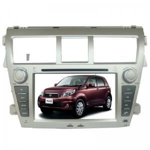 China Double din TOYOTA GPS Navigation car dvd player gps sat nav Yaris Sedan on sale