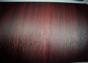 China High Saturation Matt Lamination Roll PVC Decorative Film  Interior Doors Decoration on sale