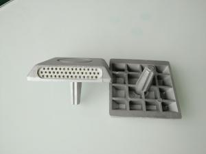 China 0.2W/P Solar Panel Aluminum Alloy Road Stud With Nail On Road Flashing Waring on sale