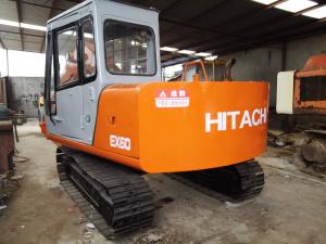 China Well maintenance Original japan Used HITACHI EX60-1 Mini Excavator For Sale on sale