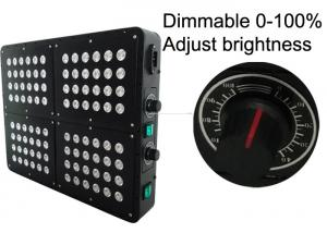 China Double Switches Dimmer Marijuana Grow Lights 288w 300w For Commercial Grower Indoor Growing System on sale