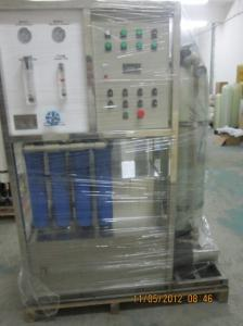 China High Quality Equipment 25m3/D One Stage RO Seawater Desalination Plant/Fresh Water Generator Supplier on sale