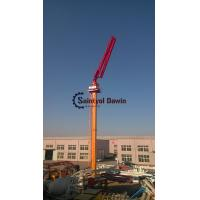 Full hydraulic 29m 33m self-climbing column concrete placing boom without counter weight on hot selling