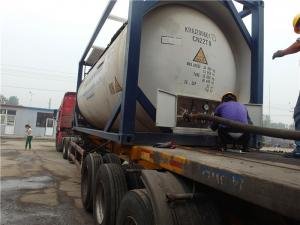 China Strong Pungent Odour Industrial Ammonia Gas For Ammonia Chiller System UN 1005 on sale