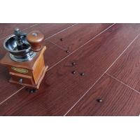 China Wine Red Bamboo Fiber Wooden Floor Tiles Floor Wood Tiles Water Resistant on sale