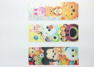 China Beautiful 3D Lenticular Bookmarks UV Printing Customised Bookmarks on sale