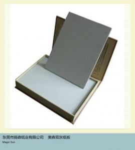 China top grade grey board,hard grey paper board on sale