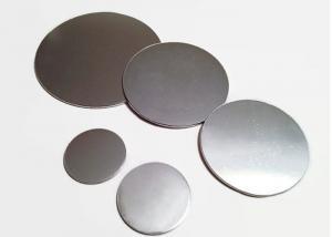 China Flat 3000 Series Circular Aluminum Plate , Anti Rusting Blank Aluminum Discs  on sale