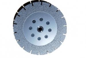 China 7 inch Vacuum Brazed Diamond Cutting & Grinding Blade Both Side Coated for Granite Marble (180MM *M14) on sale