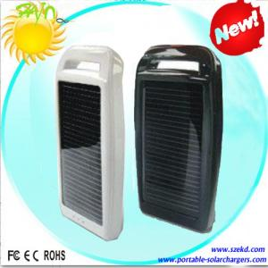 China Lithium Polymer 1000mAh Portable Solar Charger Wiht CE, ROHS For Mobile Phone on sale