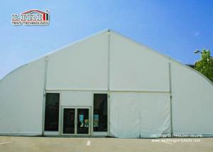 China Fire Resistant TFS Solid Wall Tents , Metal Frame Tents 20 x 45 m on sale