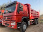 China Cheapest Used Howo 6x4 Tipper Truck 371hp Euro 2 Engine to Nigeria