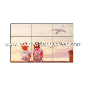 China Frameless Tv 55 Inch Lcd Video Wall 1.7mm Bezel Size Adveritising Screen Display on sale