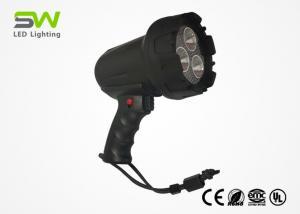 China 600 M Long Distance LED Spot Work Light , IP66 Hand Held Led Spot Lights on sale