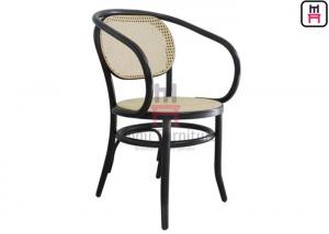 Prime Curved Armrest Outdoor Restaurant Chairs Bentwood Black Machost Co Dining Chair Design Ideas Machostcouk