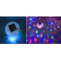 China solar LED underwater light show on sale