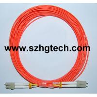 China 62.5/125 MM Duplex Fiber Optical Cable LC-LC on sale