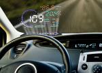 Audi A8 5.5 Inch Obd ii Car Hud Head Up Display , Digital Speedometer On Windshield