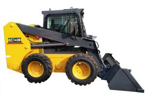 China Hydraulic Joystick Skid Steer Loader Customised Color XC-740K CE Standard on sale