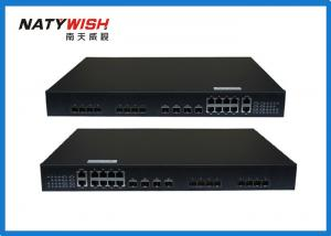 China Small Convenient OLT EPON With Easy Deploying 10G Uplink Ports Same As BDCOM OLT on sale