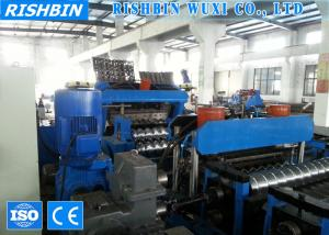 China Automatic Steel Silo Corrugated Panel Roll Forming Machine For Grain Storage on sale